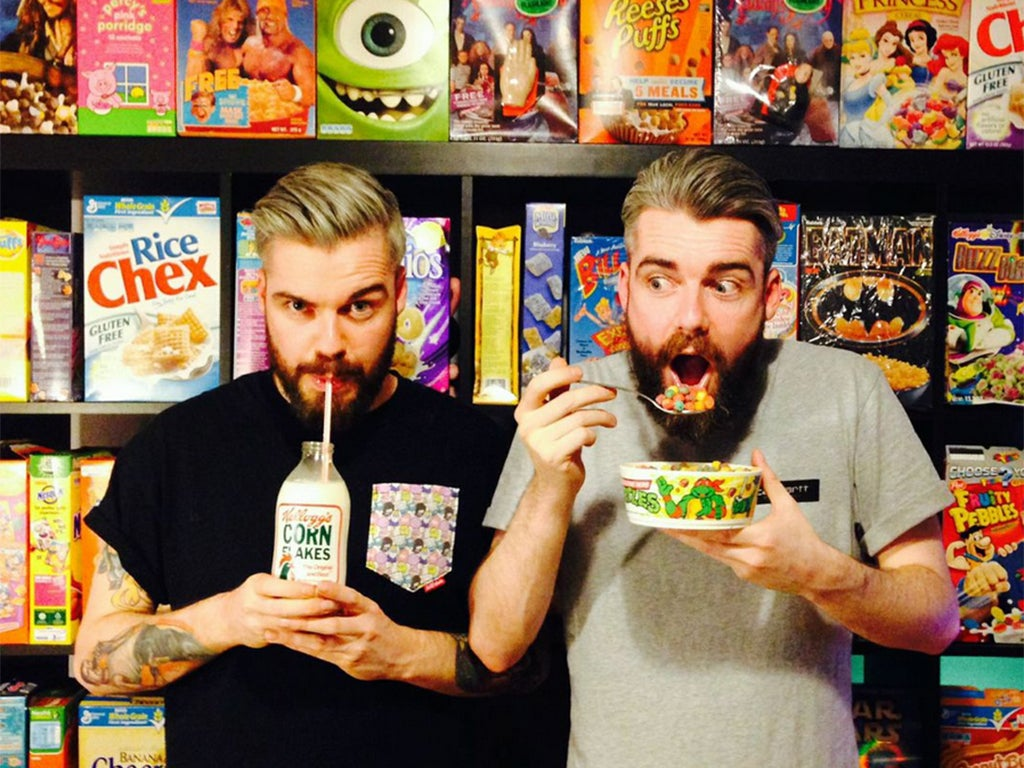 Grrrrains! UK's first cereal cafe to open in London