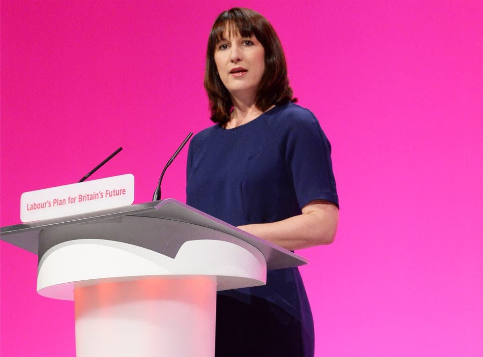 Rachel Reeves, the Shadow Work and Pensions Minister