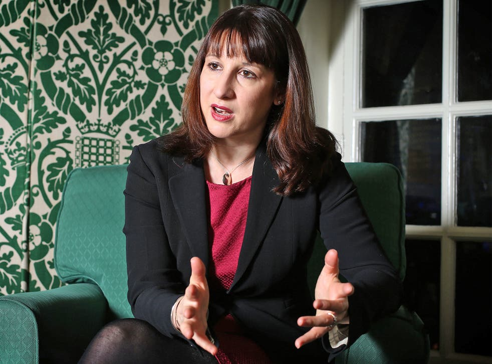 Rachel Reeves, shadow work and pensions minister