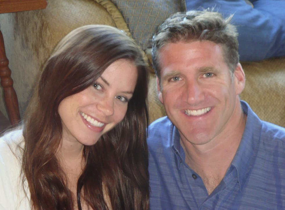Brittany Maynard pictured with her husband Dan Diaz