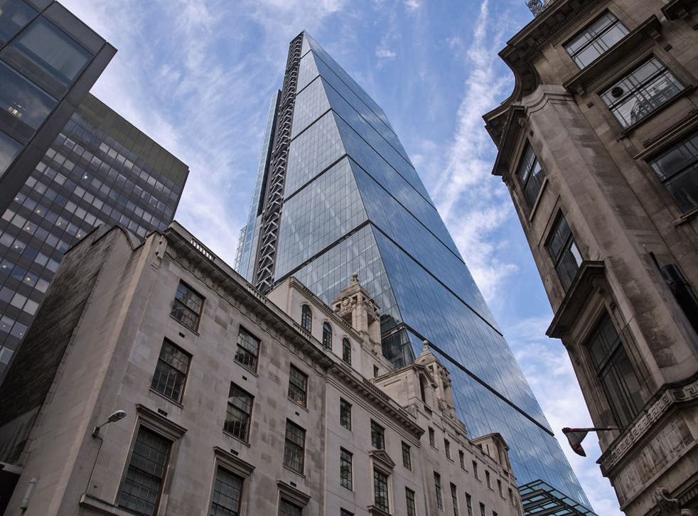 The Leadenhall Building or Cheesegrater