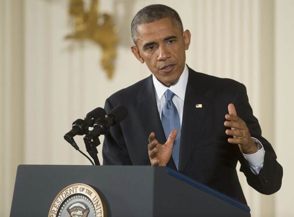 US President Barack Obama has pledged to work with Republicans