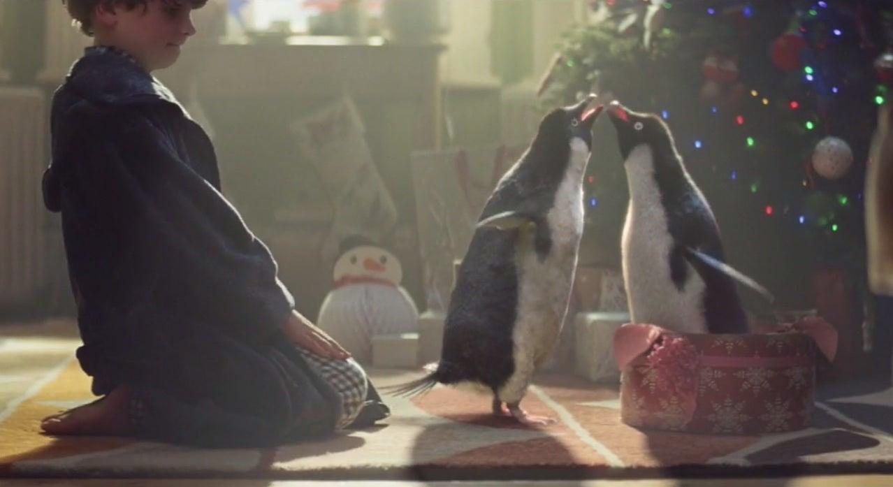 John Lewis Christmas advert 2014: Monty the lusty penguin seeks mate ...