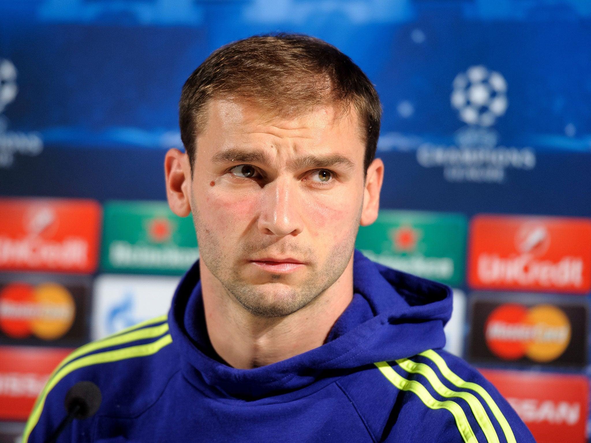 Maribor vs Chelsea Branislav Ivanovic instructs Chelsea to up