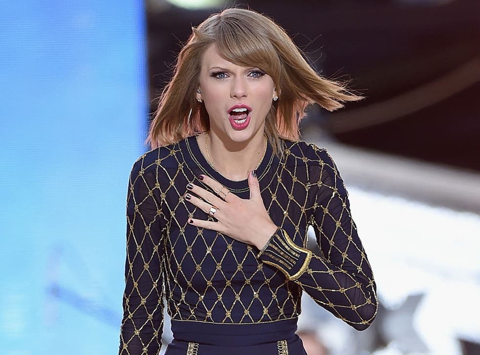 Taylor Swift does not what her work to be used as an 'experiment' by Spotify