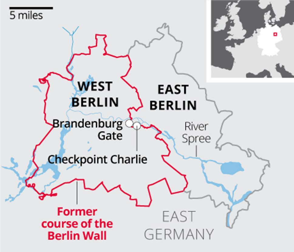 Berlin Wall: What you need to know about the barrier that divided ...