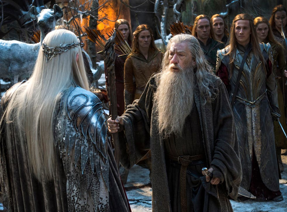 'How will this day end?' asks Gandalf as all hope seems lost in The Hobbit: The Battle of the Five Armies