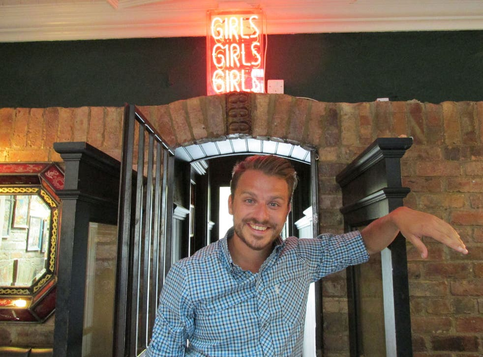 Dapper Laughs on his ITV2 dating show On The Pull