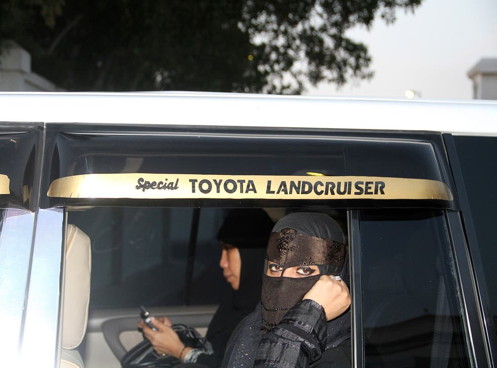 Women in Saudi Arabia must rely on male relatives to drive them places or pay drivers at a cost of about £200 a month