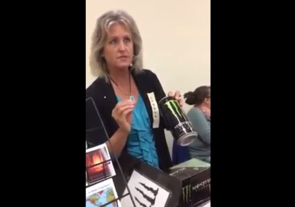 Monster is 'Satan's energy drink', Christian woman strains to argue