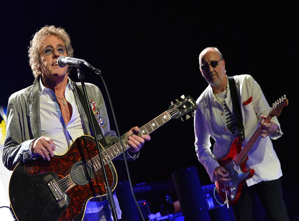 The Who are set to perform on the same night as Pink Floyd's Roger Waters