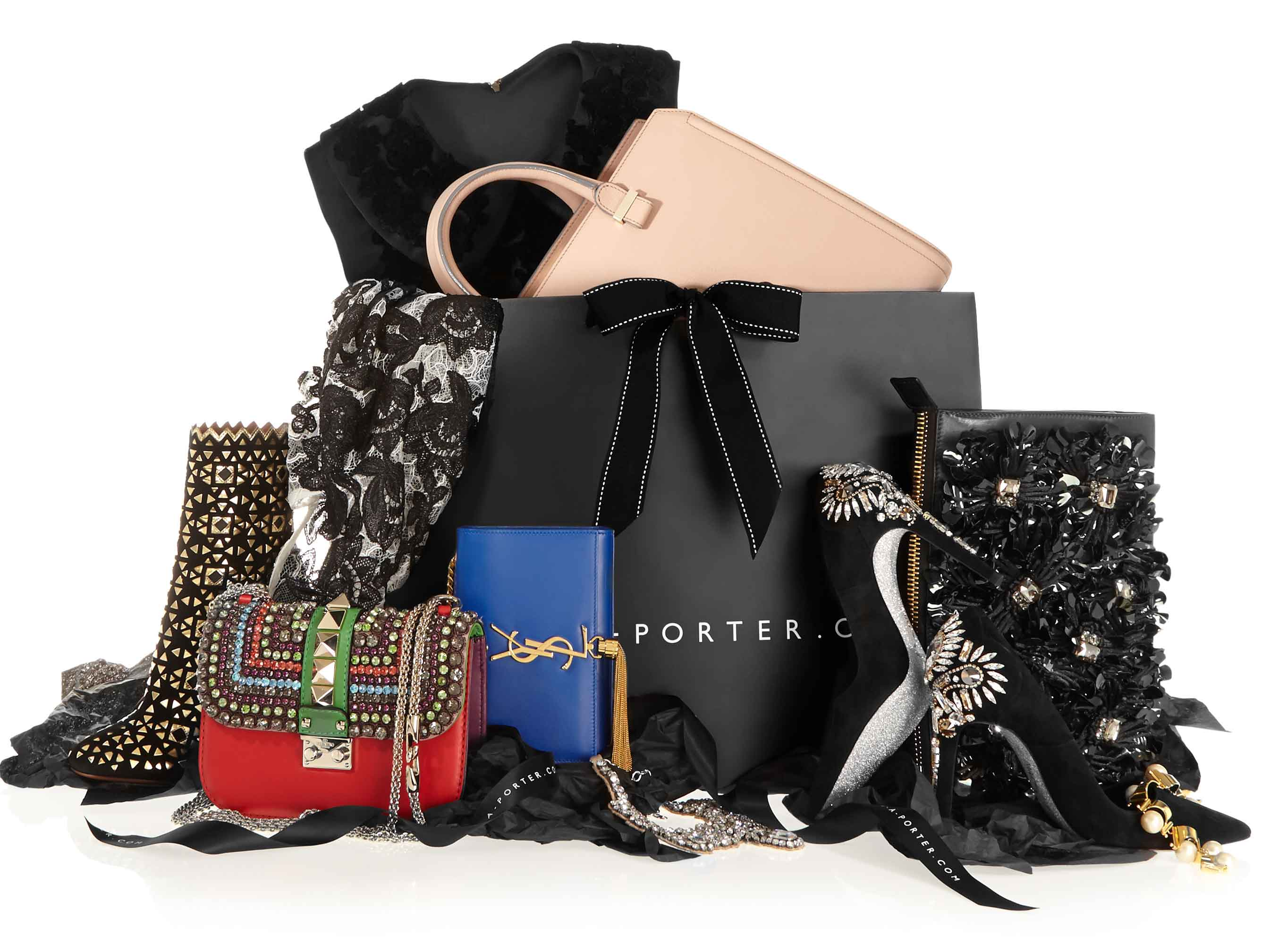 Net-a-porter launches fantasy gifts including an endless shopping ...