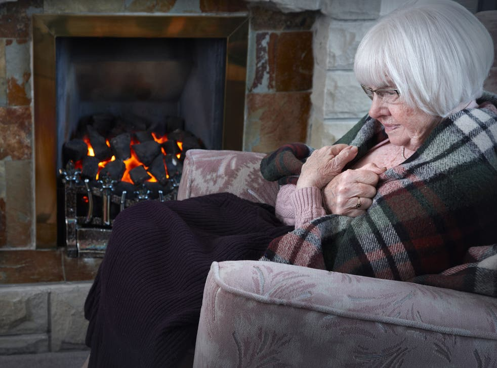 Nearly one million older people are living in fuel poverty