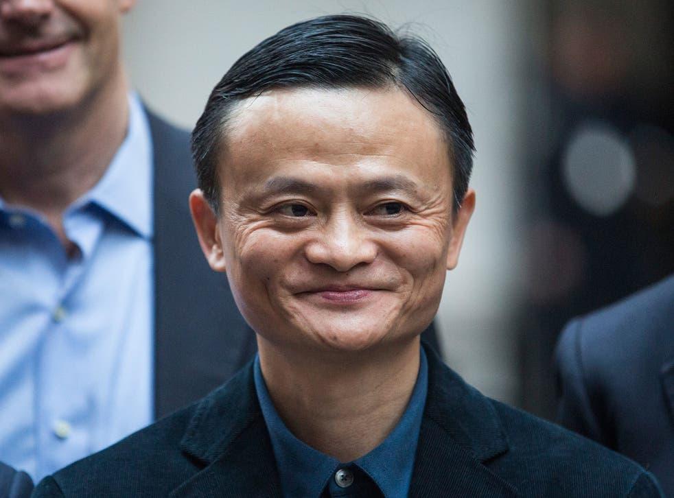 Jack Ma is worth an estimated $23.9bn (£15bn)