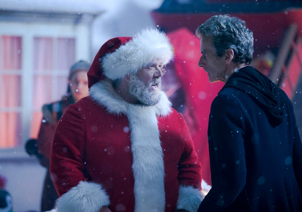 nick frost plays santa claus in the doctor who christmas special - 2014 Christmas Shows On Tv