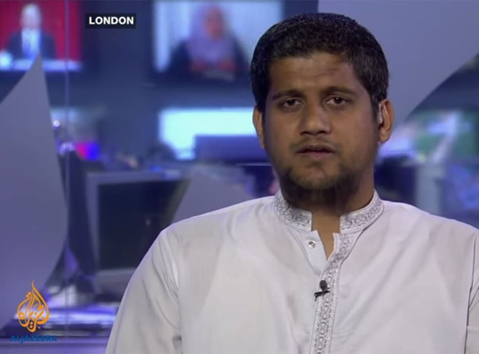 Rumaysah appeared as a talking head throughout a 20-minute programme for Aljazeera - at one point being identified simply as 'a British Muslim'