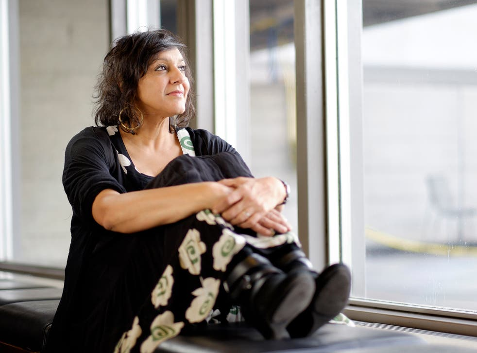 Meera Syal at the National Theatre in London