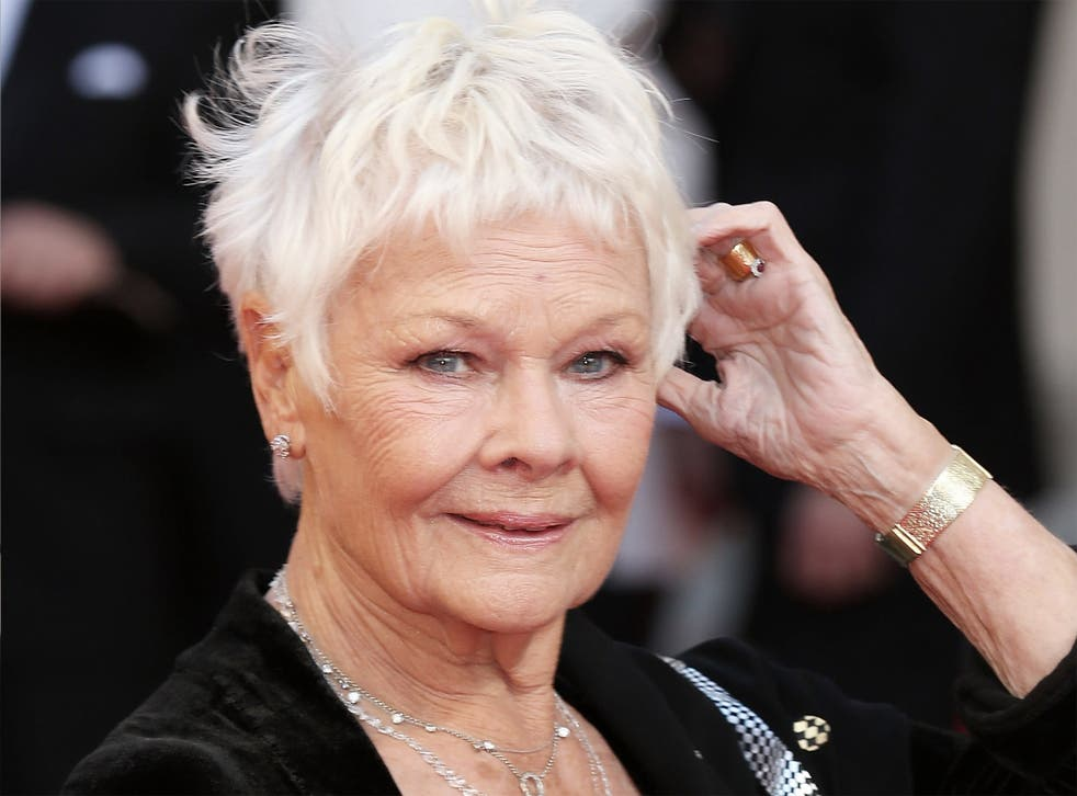Dench suffers from a serious eye condition which has left her struggling to watch films, but shows no sign of lessening her workload