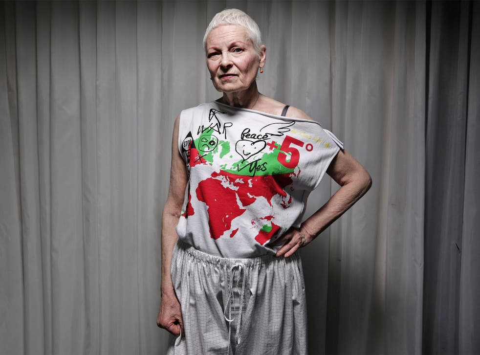 Dame Vivienne has become increasingly interested in green issues in recent years