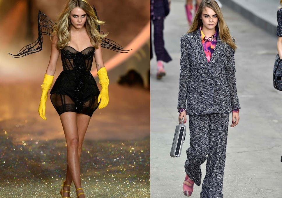 094e9c5d48 Decision time for Cara Delevingne and Kendall Jenner as Chanel and  Victoria's Secret go head-to-head to stage the biggest catwalk show of the  year
