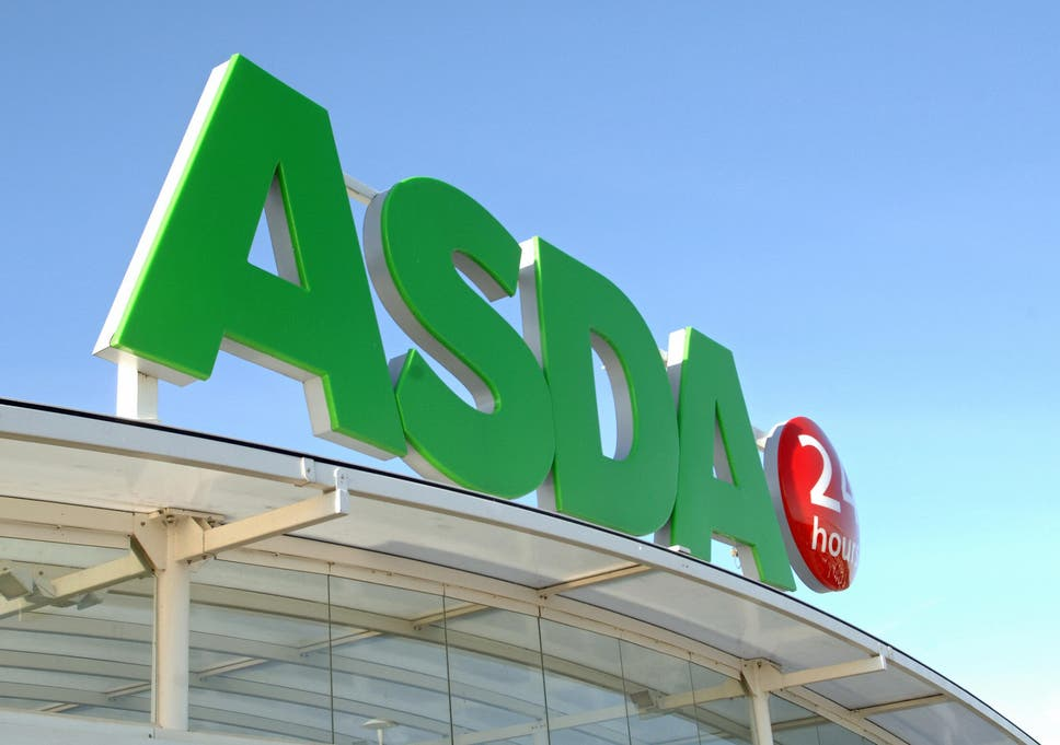 c504a702efc25 An Asda supermarket store logo is pictured in Halifax, in West Yorkshire,  in northern