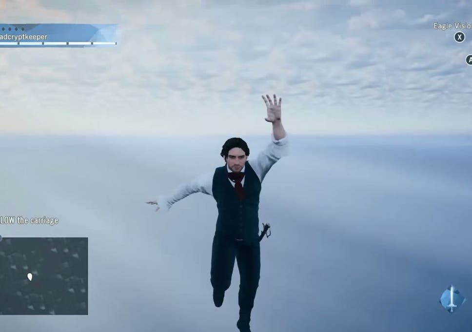 Assassin S Creed Unity Glitches Let Arno Tear A Hole In The