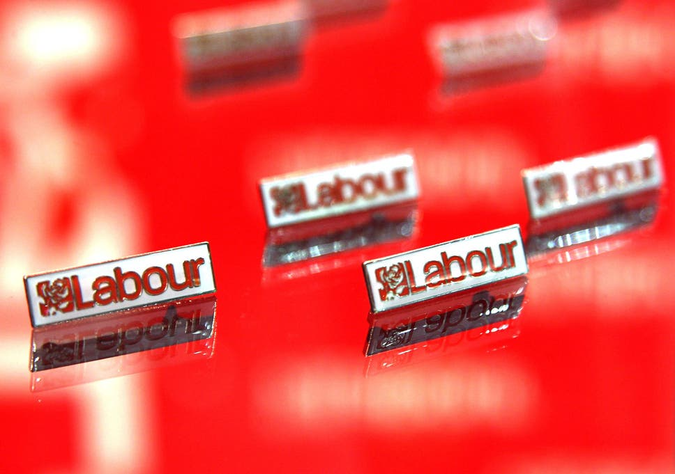 50ae7e8d3b33a Labour Party badges go on sale at the Labour Party conference on September  24