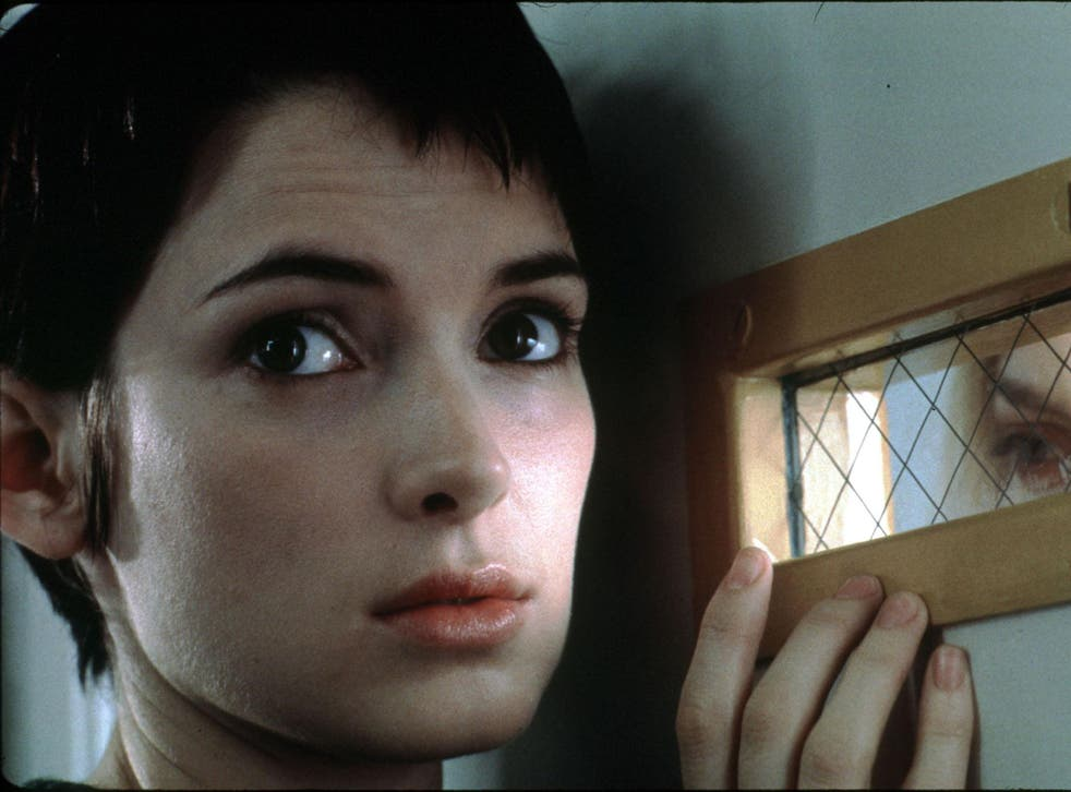A scene from Girl Interrupted starring Wynona Ryder as Susana Kaysen