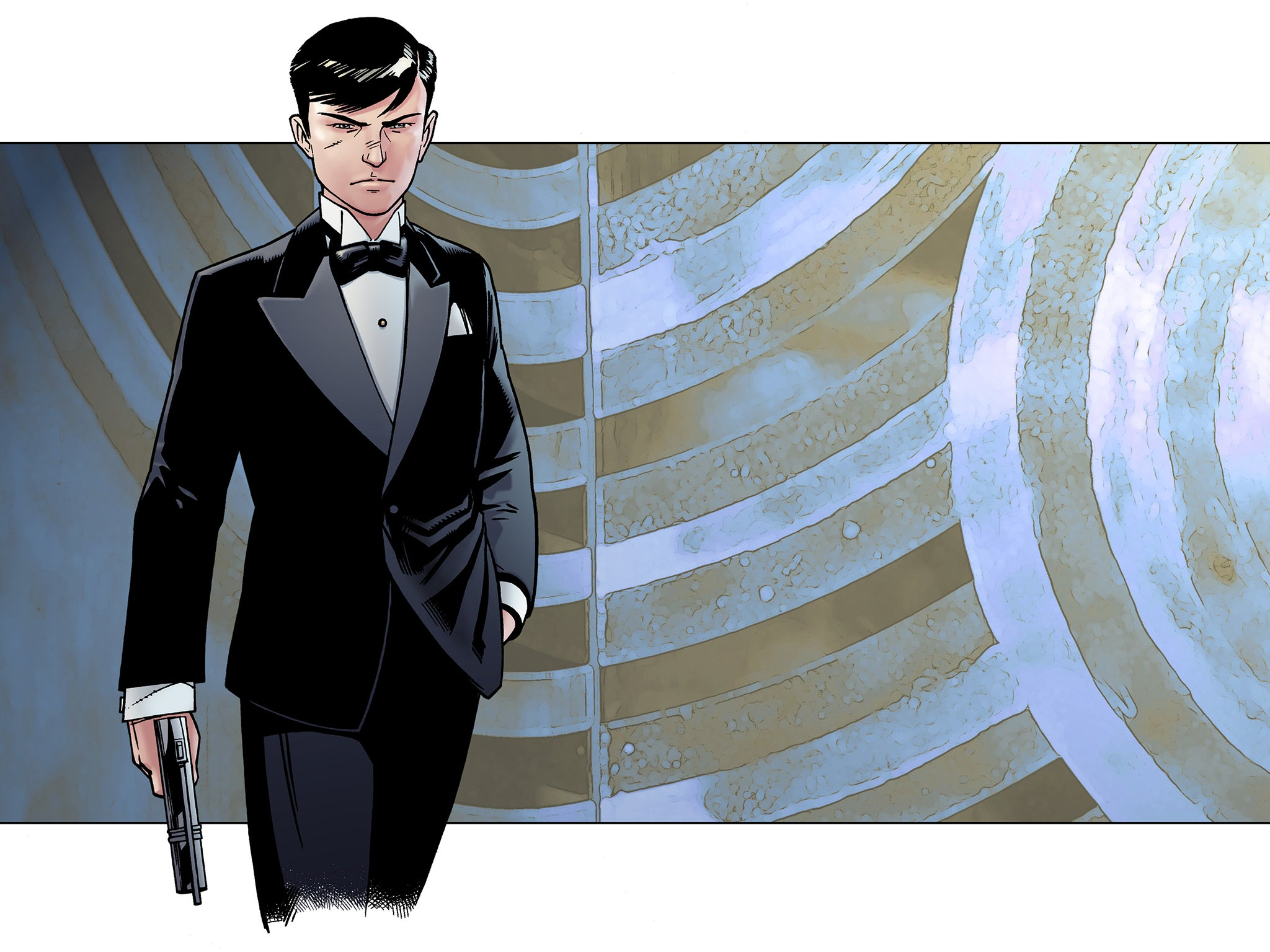 James Bond gets first new comic book series in 20 years based on the 'brutal, damaged original'