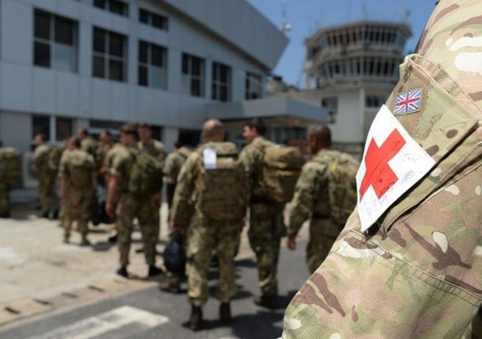 Ebola outbreak: Drug banned in US given to British soldiers