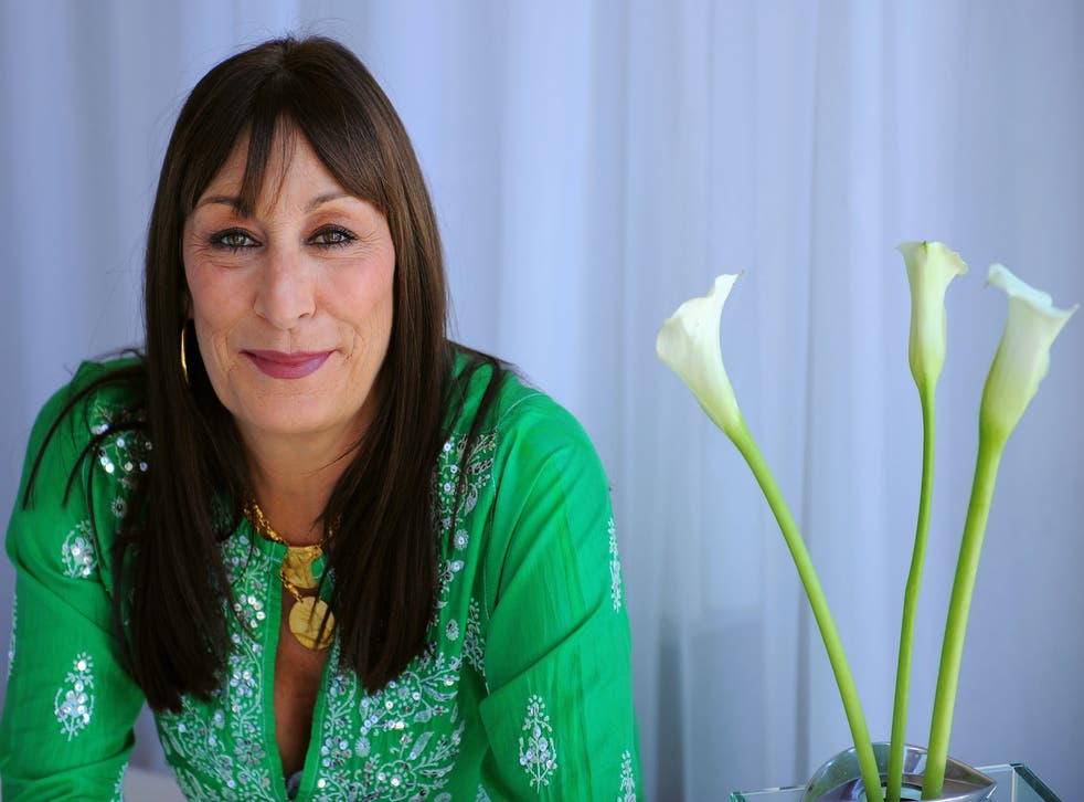 Hollywood actress Angelica Huston