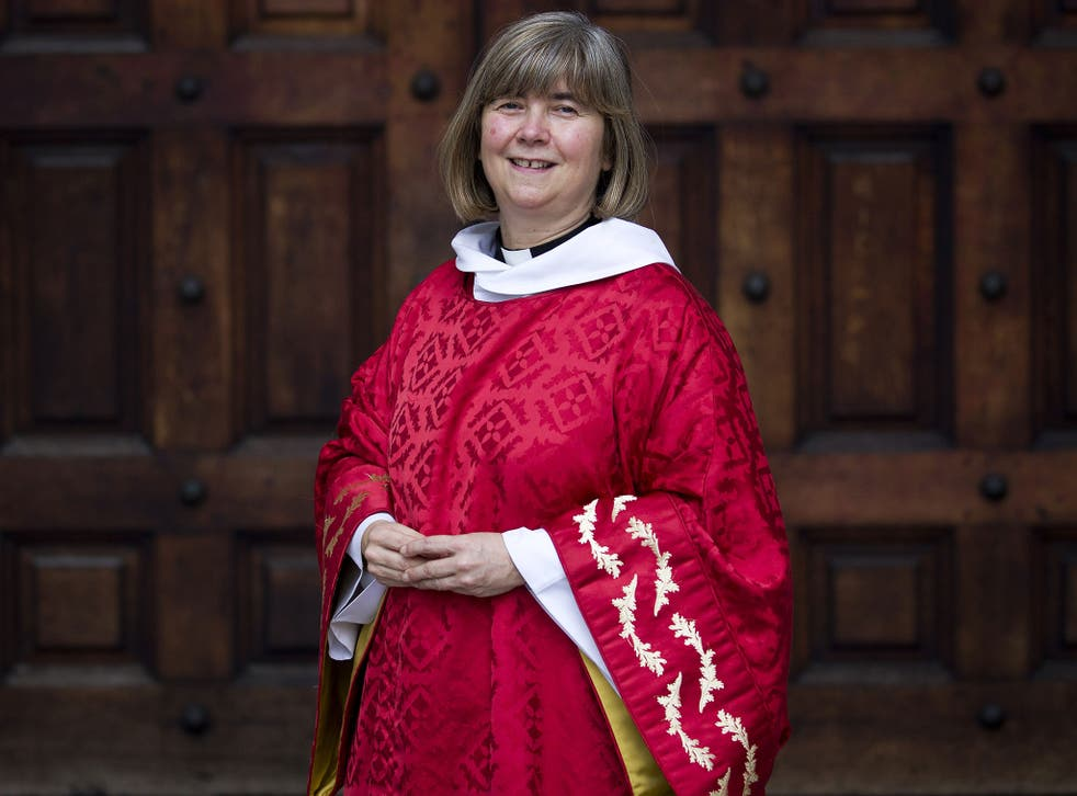 Canon Philippa Boardman was ordained as a priest in 1994
