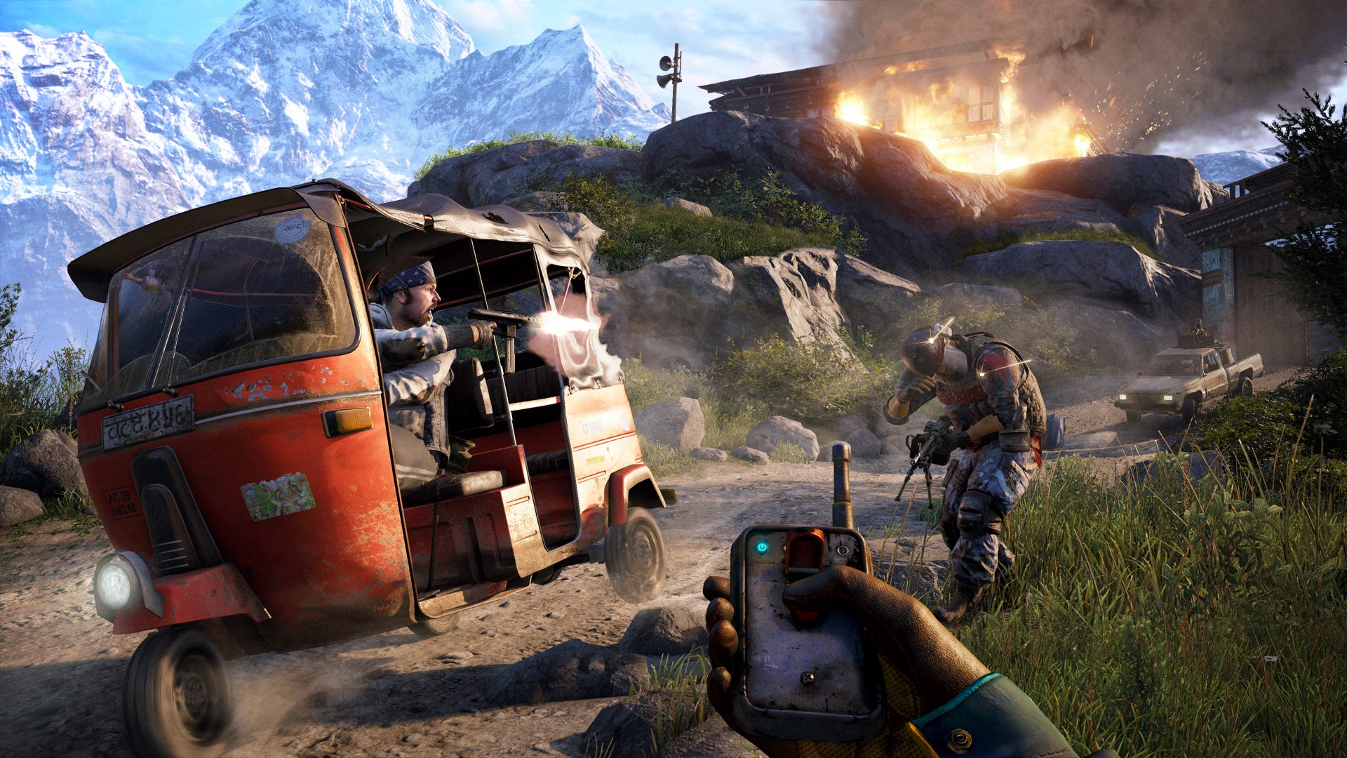 Far Cry 4 Review A True Blockbuster That Offers Chaotic Fun But