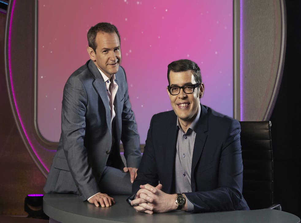Alexander Armstrong and Richard Osmon host BBC's Pointless