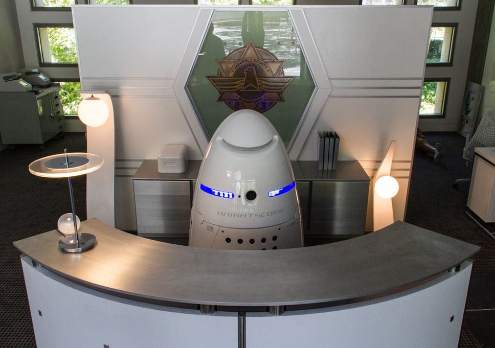 The Security Guard Of The Future Is A Glossy Dalek That Works For