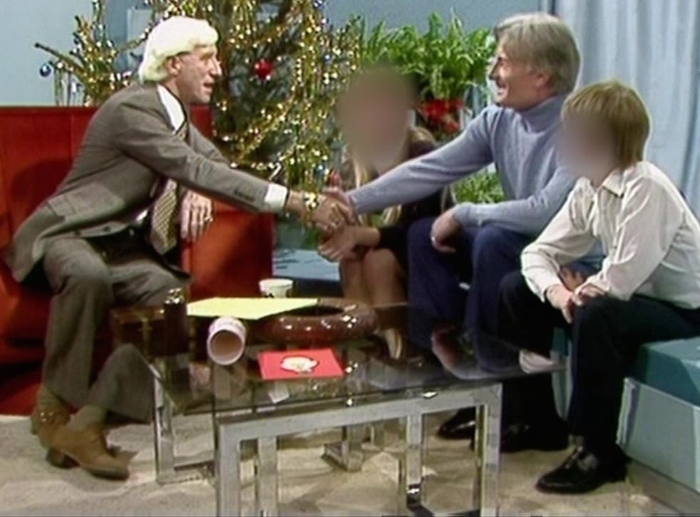 Keith Haring, a convicted sex offender, appears on the 1980 Christmas edition of Jimmy Savile's Jim'll Fix It