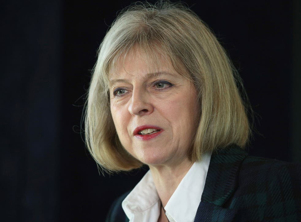 Home Secretary Theresa May said the investigation 'confirmed her concern'