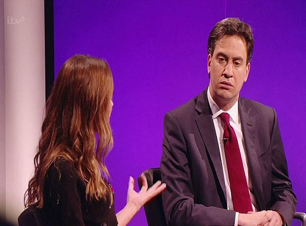 Myleene Klass goes head-to-head with Ed Miliband on The Agenda over mansion tax