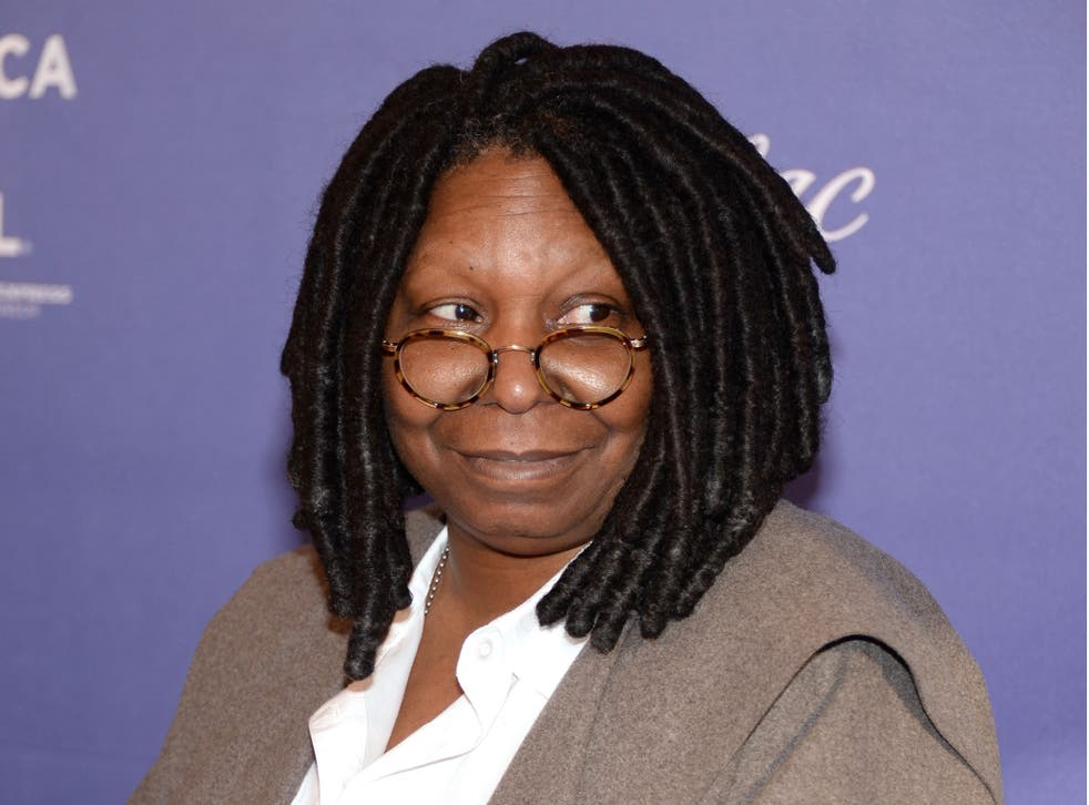 "Whoopi Goldberg said she was ""reserving... judgement"""