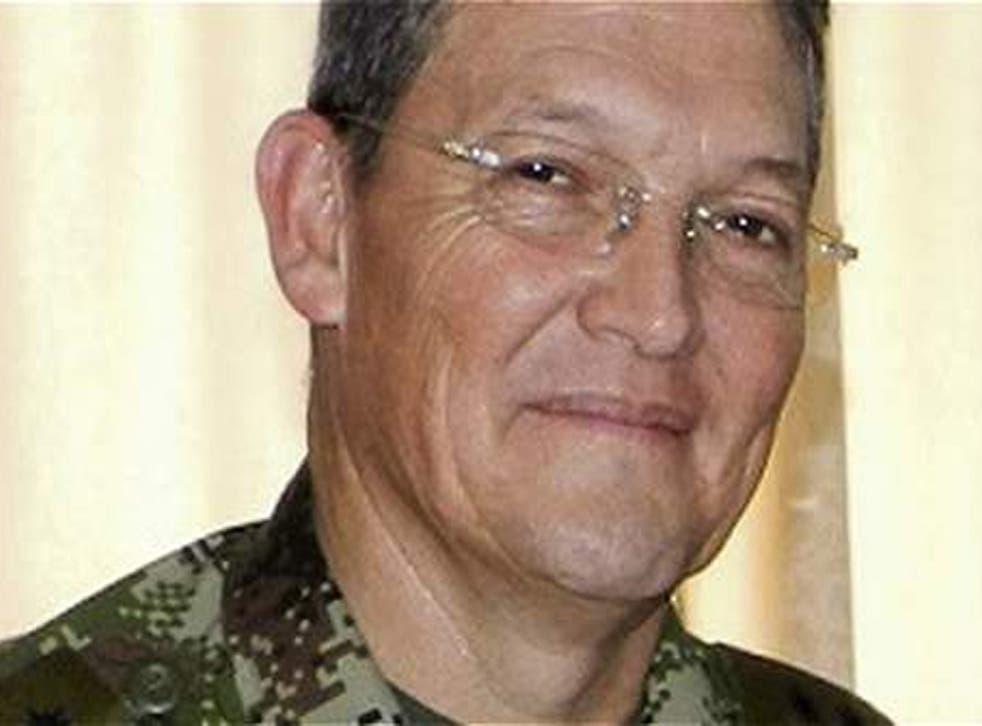 General Ruben Dario Alzate, kidnapped by Farc