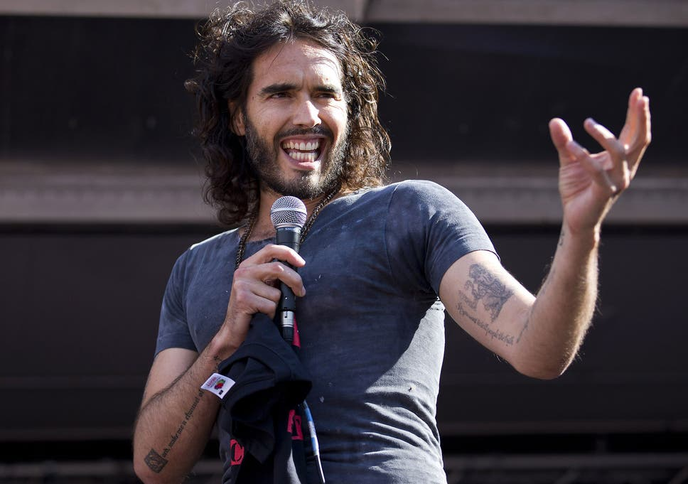 Russell brand sexual harassment