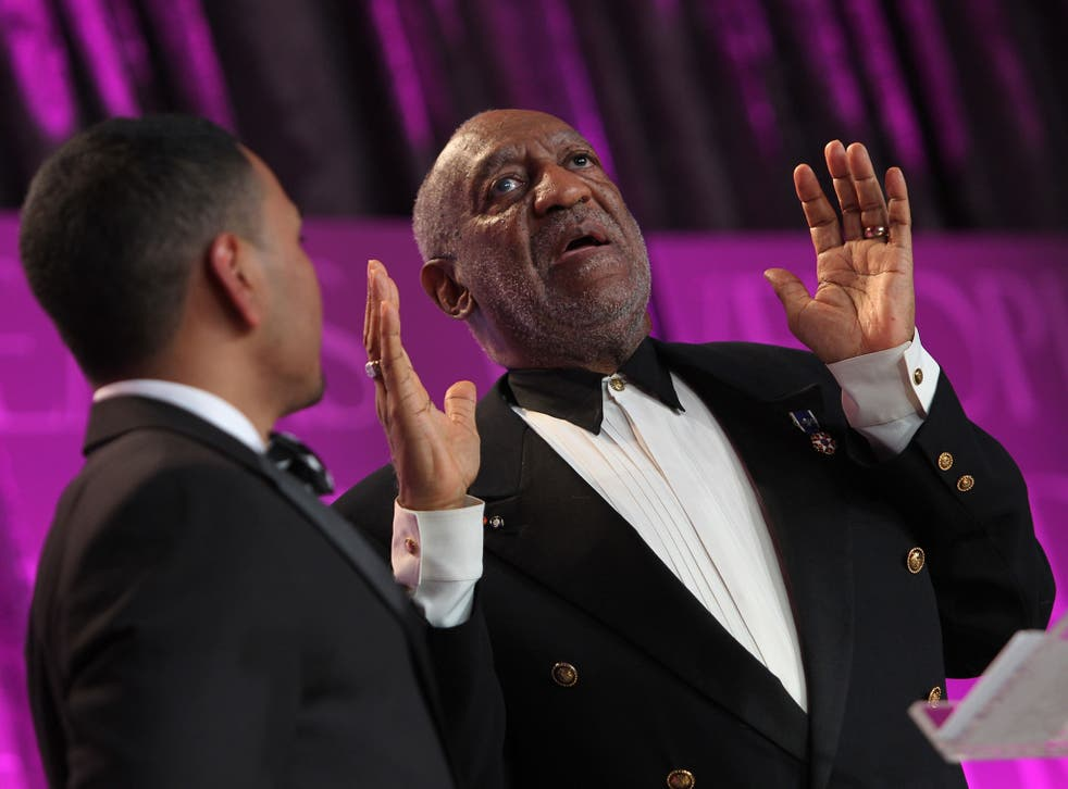 Bill Cosby speaks onstage at the Thurgood Marshall College Fund 25th Awards Gala on 11 November 2013 in Washington
