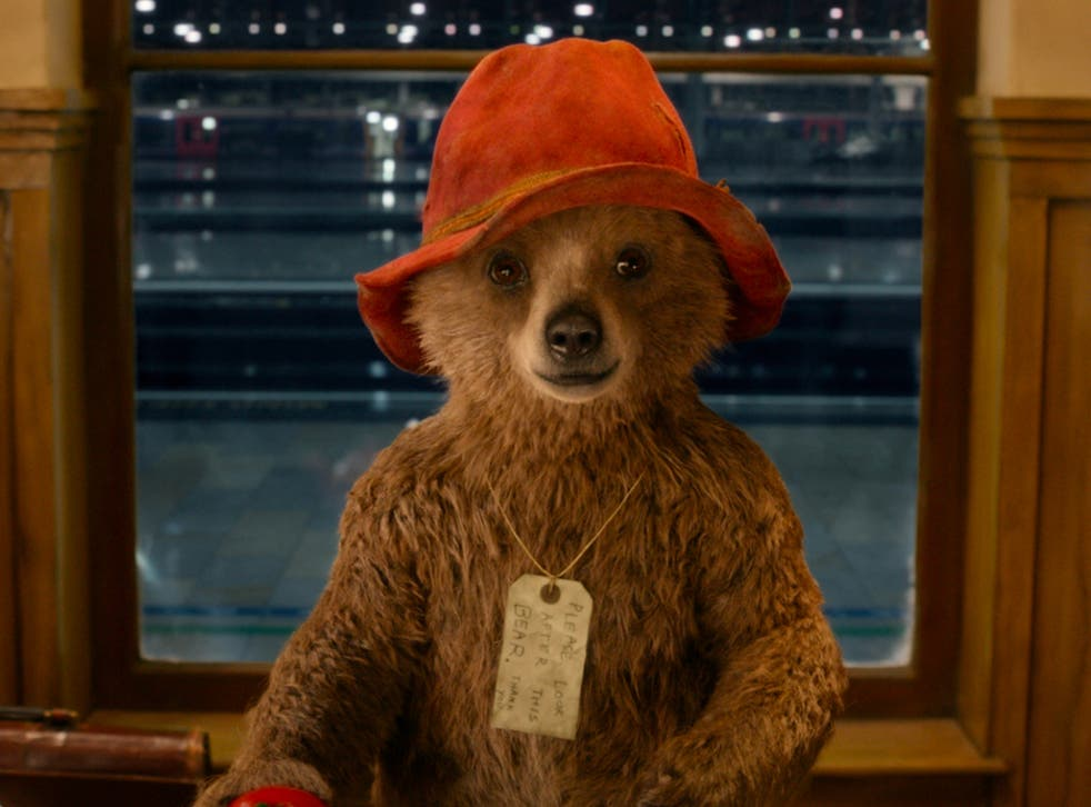 A scene from the new Paddington bear review