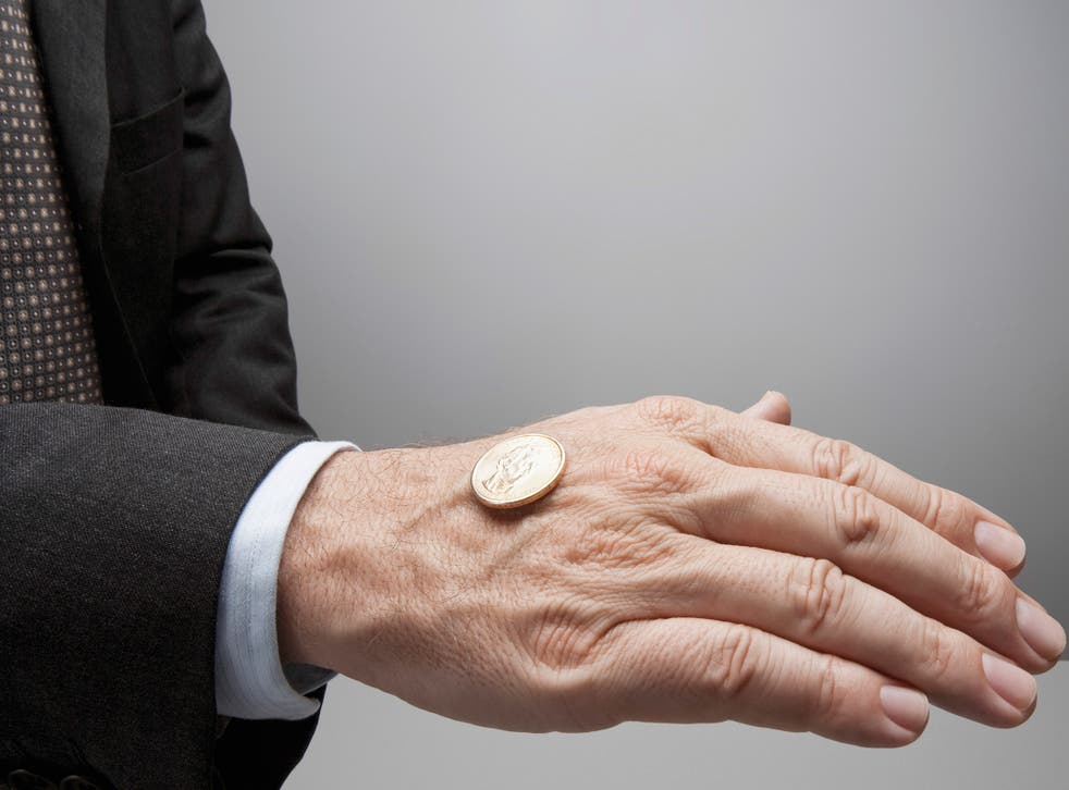 In the test, participants were asked to repeatedly flip a coin and report the results