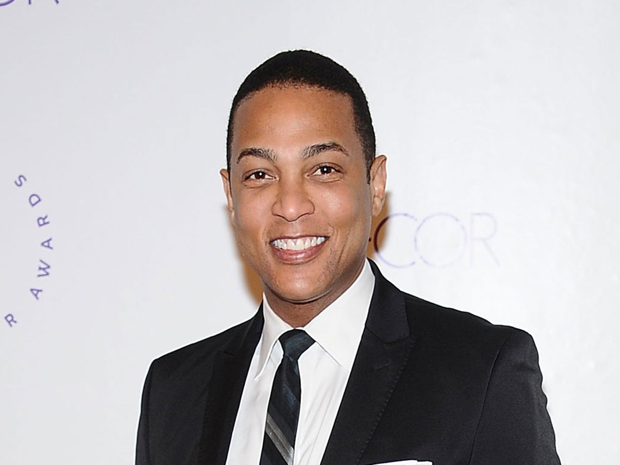 Don Lemon ridiculed for holding sign reading 'n****r' and asking