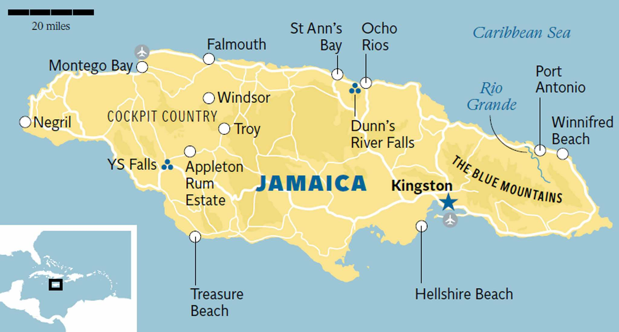 Jamaica: Traveller\'s Guide | The Independent
