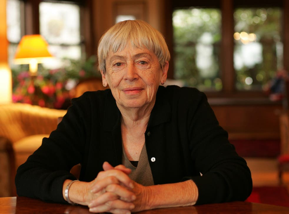 Ursula K Le Guin at her home in Portland, Oregon