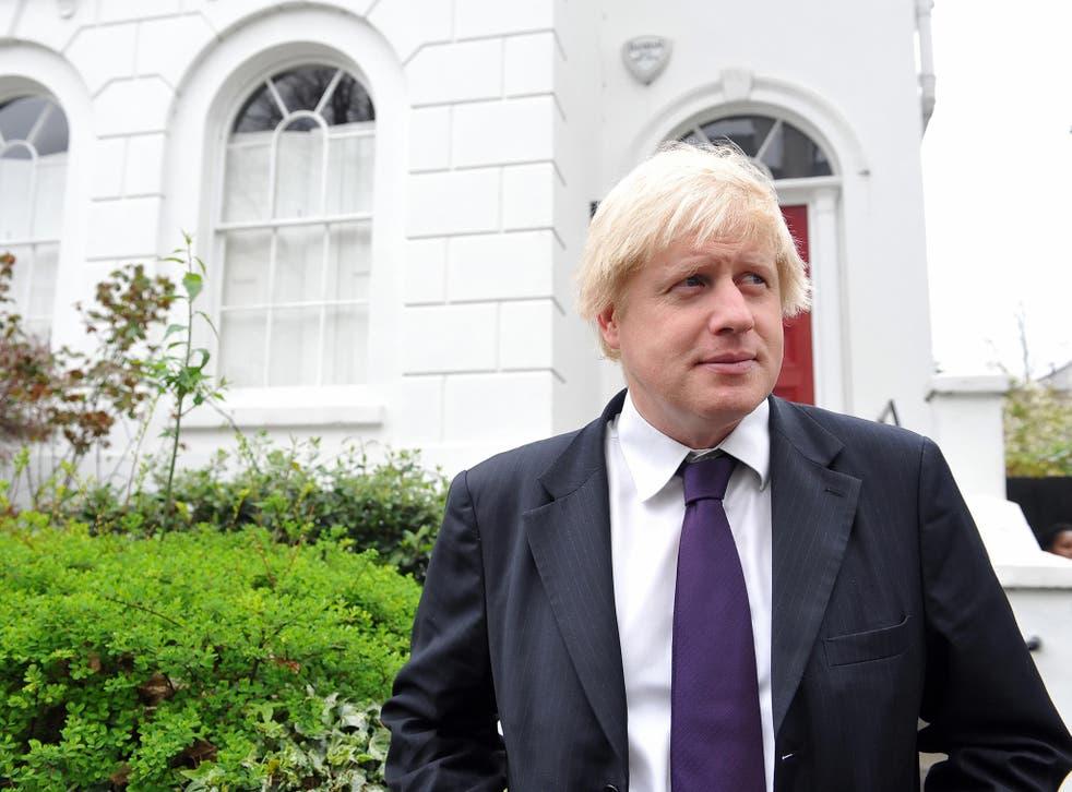 American-born Boris Johnson railed against the US's doctrine of 'global taxation'
