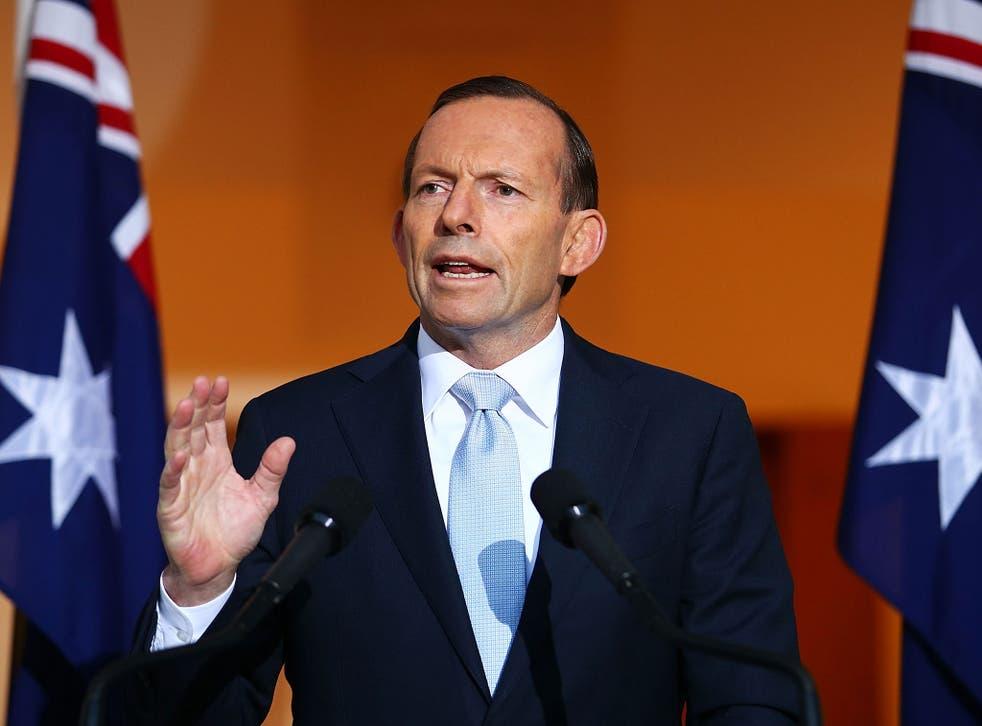 Tony Abbott was labelled 'flaky' in The Australian
