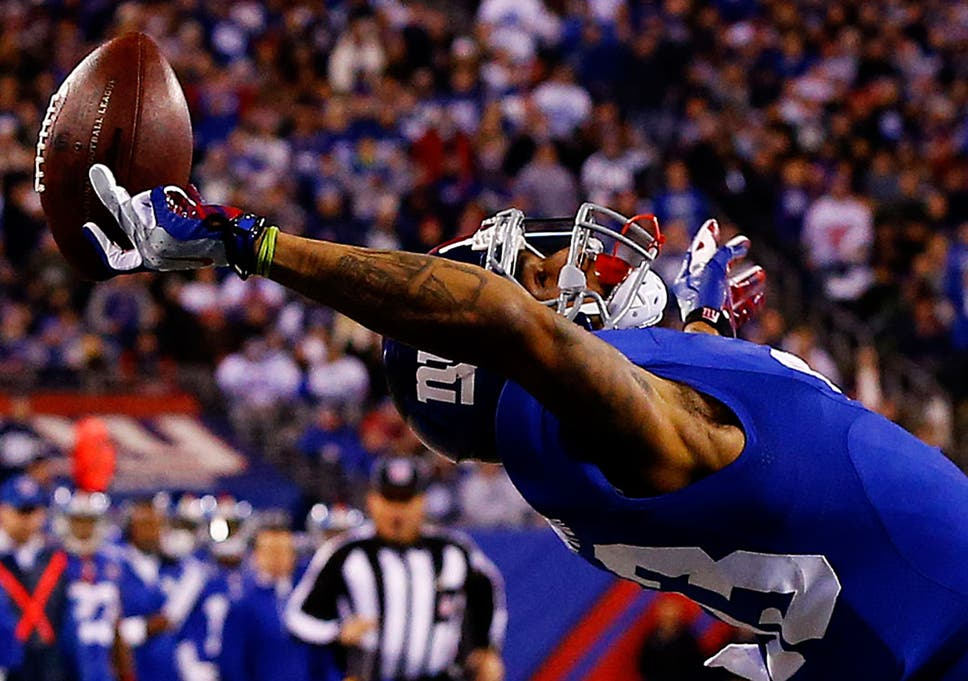 online retailer 3696c bde33 Odell Beckham Jr: Best tweets and memes of amazing catch ...